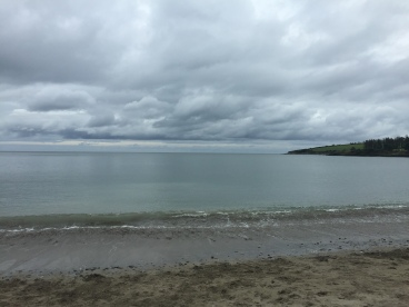 The Atlantic Ocean in Fountainstown, Ireland