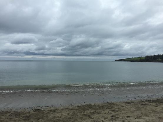 The Atlantic Ocean in Fountainstown, Ireland