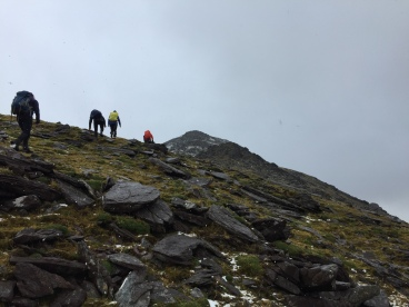 UCC students gain a ridge leading to Ireland's tallest mountain: Carrauntoohil