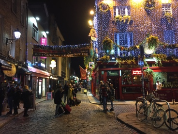 Temple Bar area of Dublin